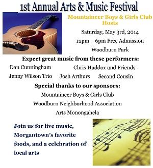 1st Annual Arts and Music Festival