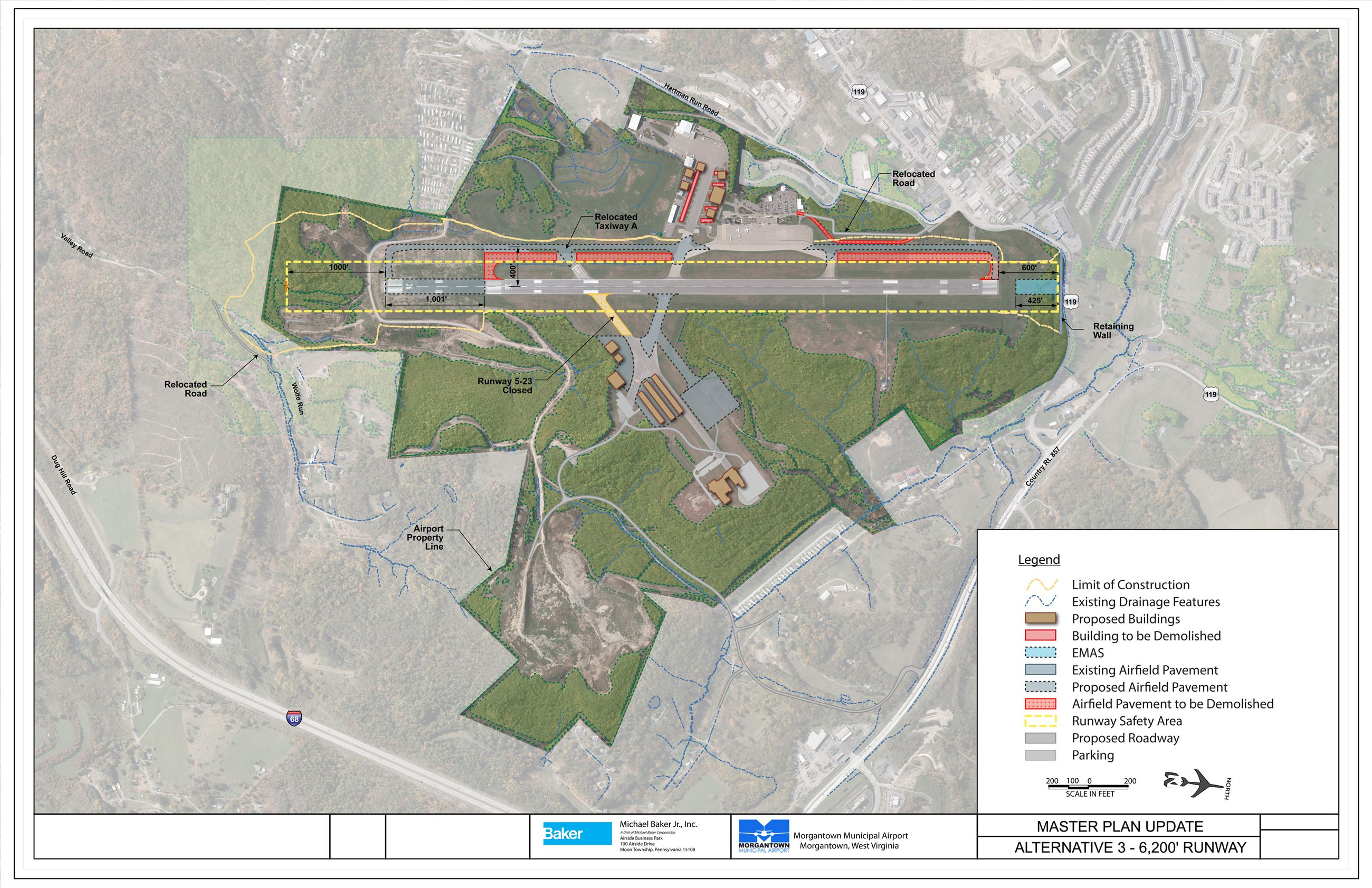 An overview of the Morgantown Municipal Airport Runway Extension Project