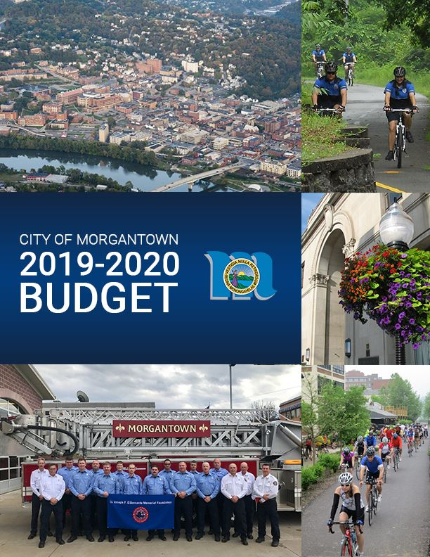 2019-2020 City of Morgantown Budget Cover Page. Opens in new window