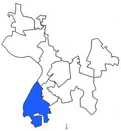 Map of Ward 1